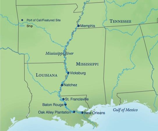Voyage On The Mississippi Smithsonian Journeys