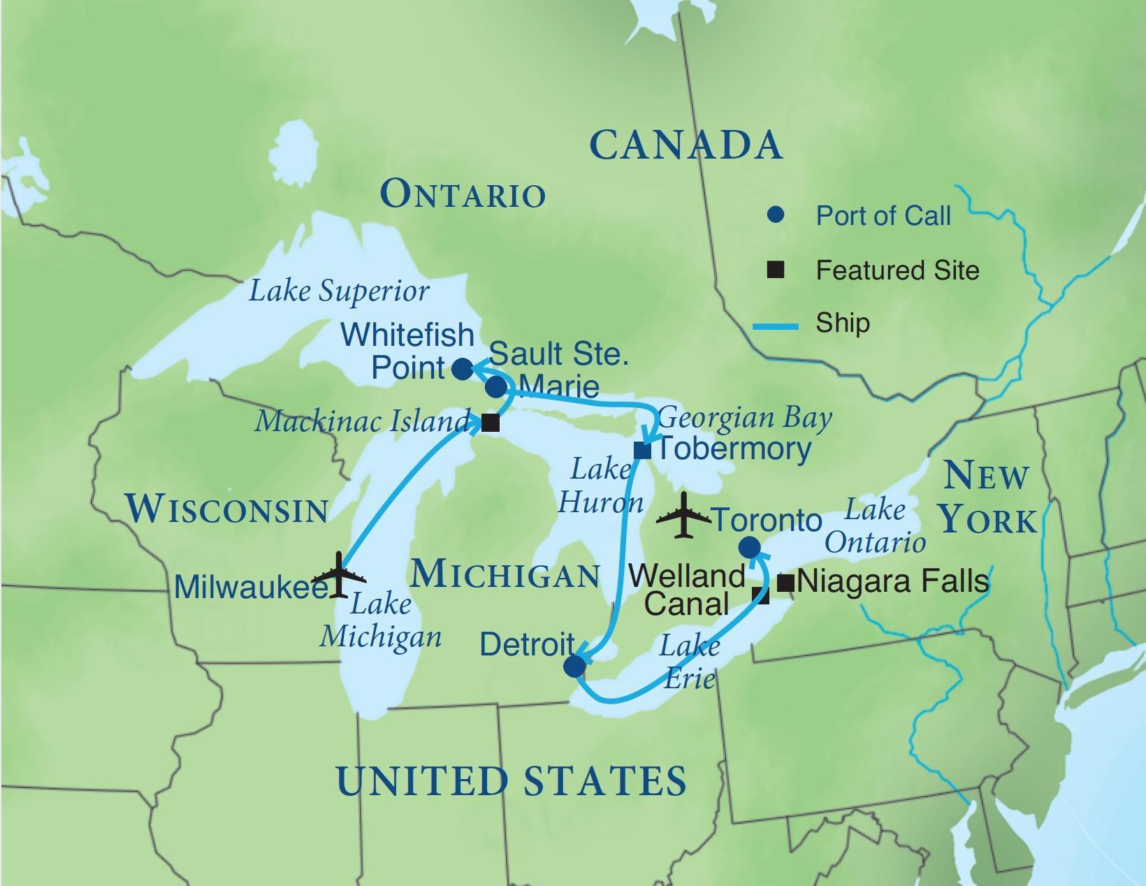 Great Lakes Cruise   Smithsonian Journeys