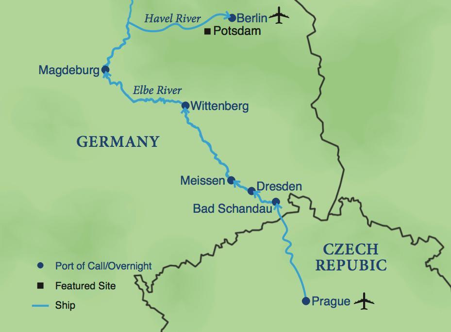 Elbe River Cruise Smithsonian Journeys - Elbe river