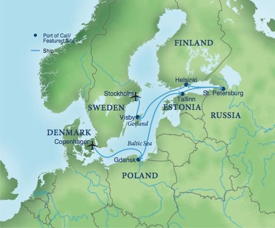 Cruising The Baltic Sea Smithsonian Journeys - Baltic cruise