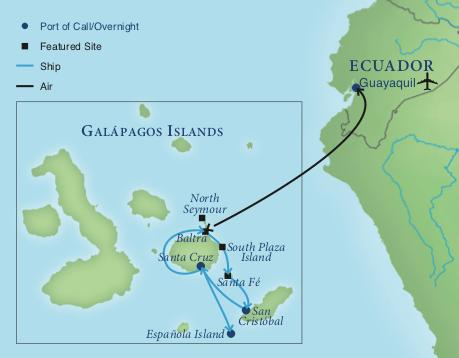 Galapagos On World Map.Wonders Of The Galapagos Smithsonian Journeys