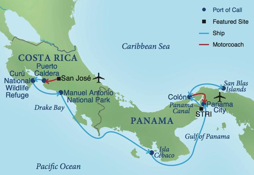 A Cruise of Panama & Costa Rica | Smithsonian Journeys