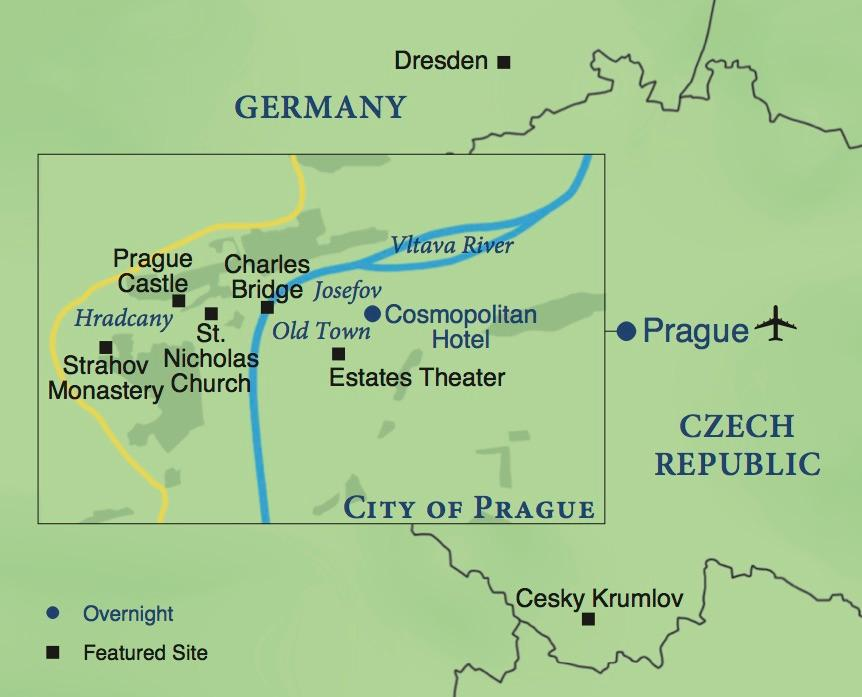 Prague a one week stay smithsonian journeys for Special places to stay prague