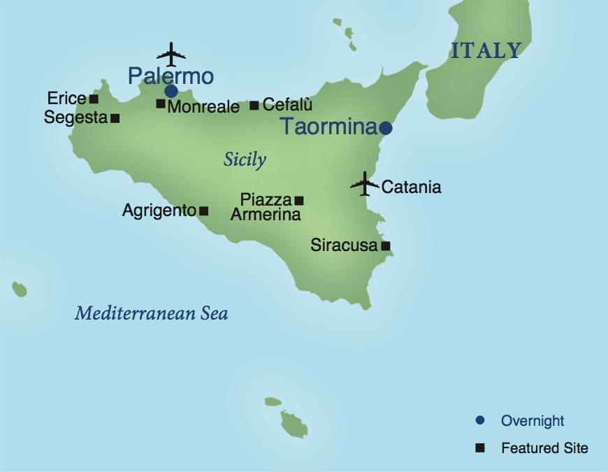 Palermo And Taormina A Stay In Sicily Smithsonian Journeys