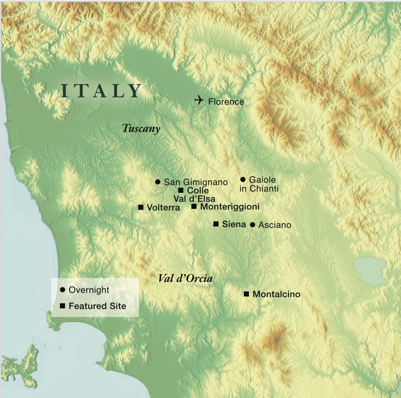 Hikes And Cuisine Of Tuscany Smithsonian Journeys