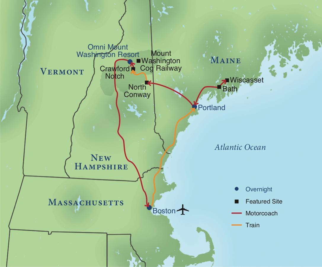 Railroading New England