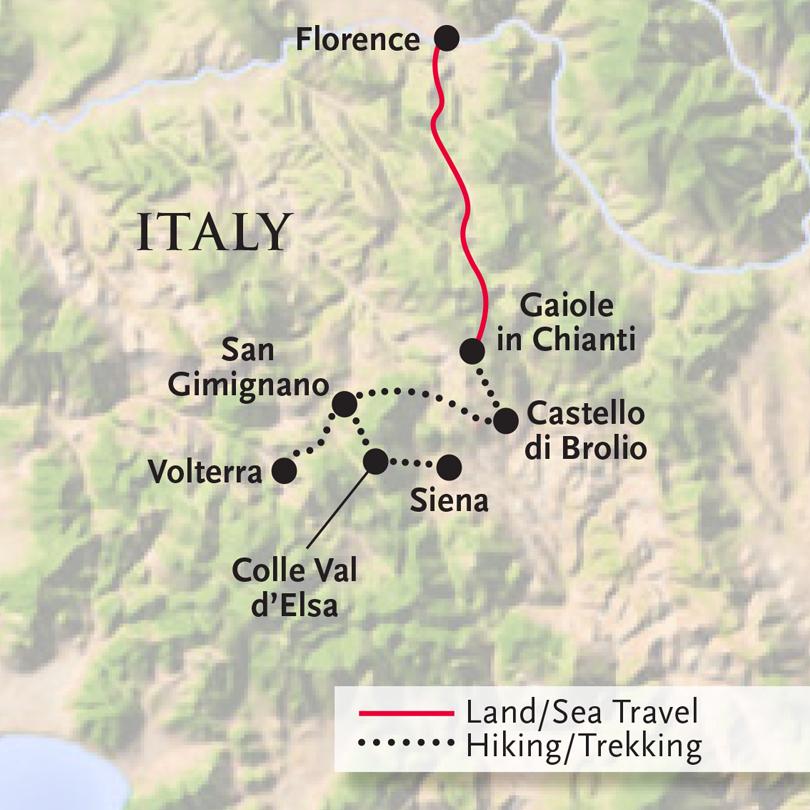Walks and Cuisine of Tuscany Smithsonian Journeys