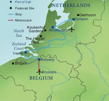 Waterways of Holland and Belgium | Smithsonian Journeys